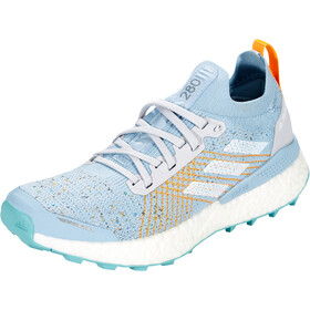 adidas TERREX Two Ultra Parley Chaussures de trail Femme, dash grey/footwear white/blue spirit